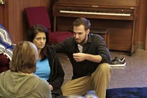 Cory teaching autocorrected