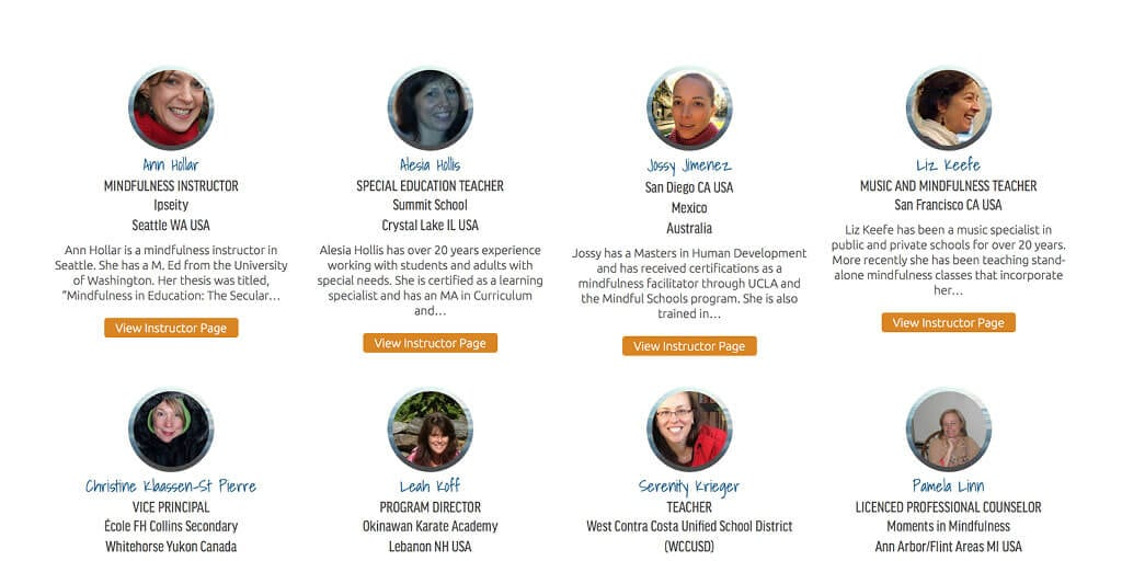USA » Mindfulness Certified Instructor Directory   Mindful Schools